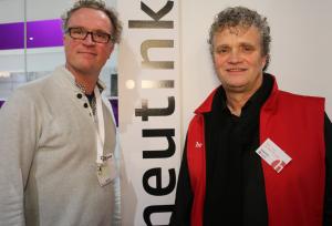 Ronald Scheer en Bert van de Werfhorst, werkzaam bij Heutink.