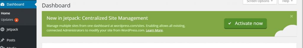 JetPack Plugin Activeren
